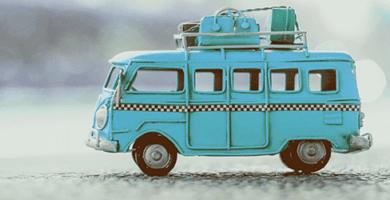 Bus Azul