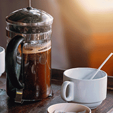 Cafetera Vintage de Embolo