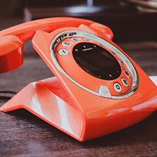 Telefono Rojo Vintage