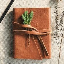 Agenda Vintage marron